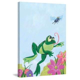 Marmont Hill 'Frog' by Curtis Painting Print on Canvas