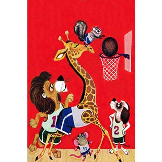 Marmont Hill 'Basketball' by Curtis Painting Print on Canvas