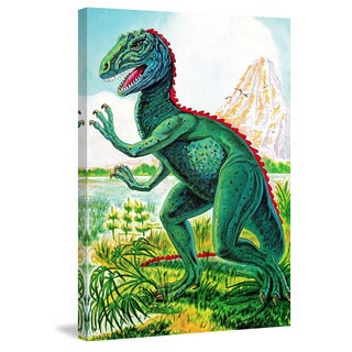 Marmont Hill 'Ceratosaurus' by Curtis Painting Print on Canvas