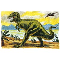 Marmont Hill 'Tyrannosaur II' by Curtis Painting Print on Canvas
