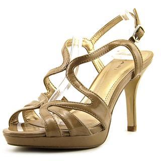 Tahari Women's 'Balthasar' Tan Patent Sandals