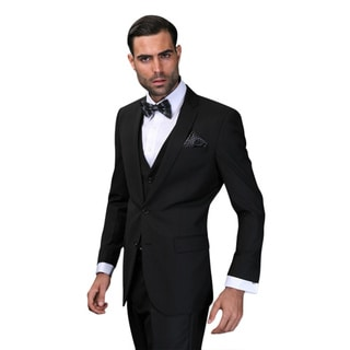 Link to Lorenzo Men's Black Statement Suit Similar Items in Suits & Suit Separates