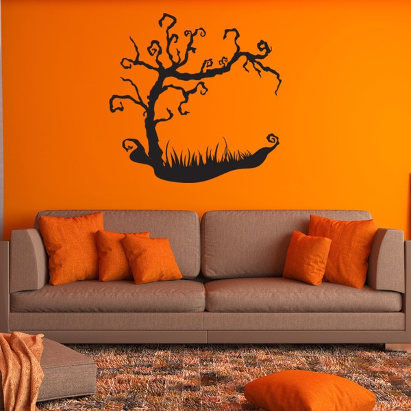 Shop Halloween Scary Tree Wall Decal Vinyl Art Home Decor
