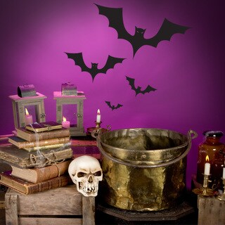 Halloween Bats Wall Decal Vinyl Art Home Decor