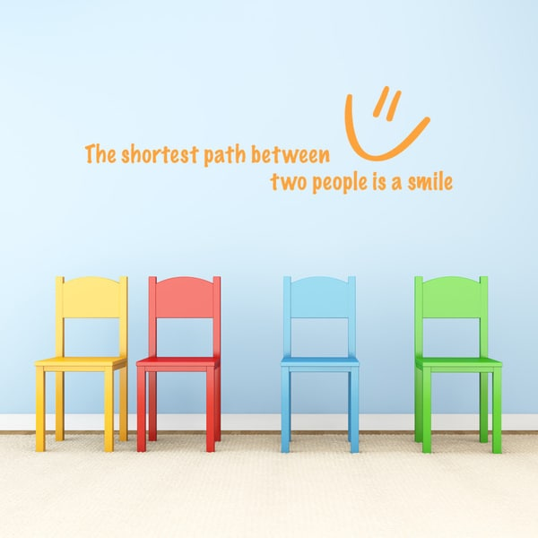 Shop Shortest Path Wall Decal Vinyl Art Home Decor Quotes And Sayings