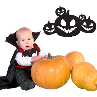 Halloween Jack O' Lanterns Wall Decal Vinyl Art Home Decor