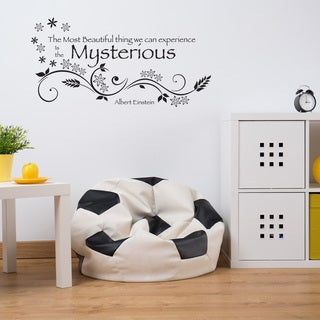 Mysterious Wall Decal Vinyl Art Home Decor Quotes and Sayings