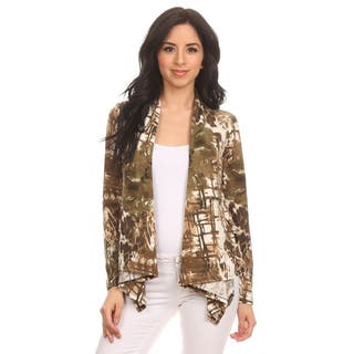 MOA Collection Women's Brown Abstract Print Open Cardigan https://ak1.ostkcdn.com/images/products/11706922/P18629925.jpg?impolicy=medium
