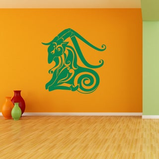 Capricorn Wall Decal Vinyl Art Home Decor