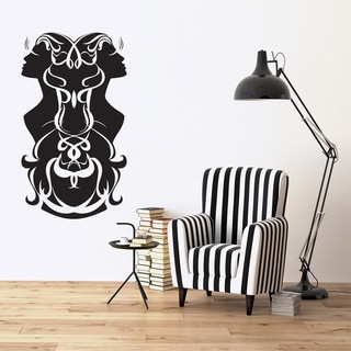 Gemini Wall Decal Vinyl Art Home Decor