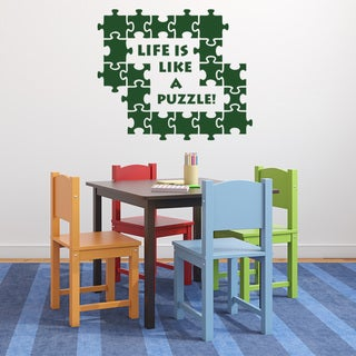 Puzzle Wall Decal Vinyl Art Home Decor