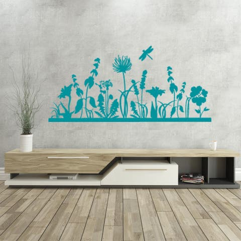 Autumn Garden Wall Decal Vinyl Art Home Decor