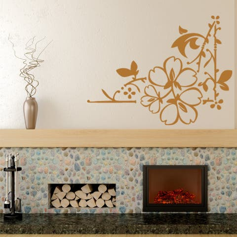 Love Leaves Wall Decal Vinyl Art Home Decor