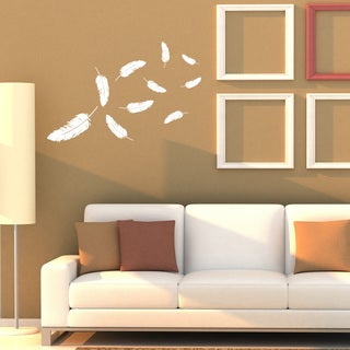 Feathers Wall Decal Vinyl Art Home Decor