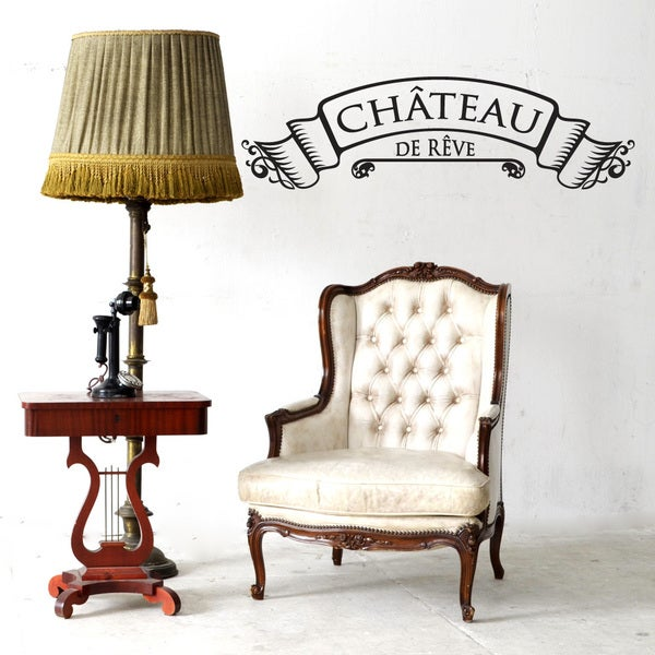 Chateau Wall Decal Vinyl Art Home Decor Free Shipping On