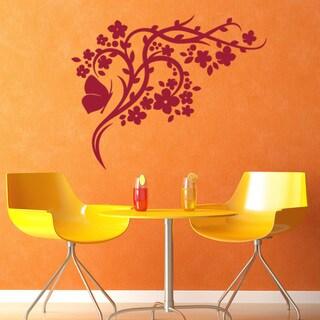 Blossom Branch Wall Decal Vinyl Art Home Decor