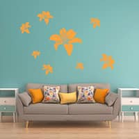 Smooth Blossoms Wall Decal Vinyl Art Home Decor