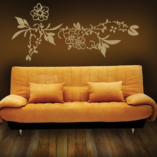 Flower Border Wall Decal Vinyl Art Home Decor