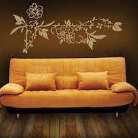 Flower Border Wall Decal Vinyl Art Home Decor