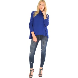 Fly On By Turtleneck Long-Sleeve Top