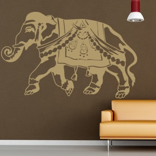 Indian Elephant Wall Decal Vinyl Art Home Decor