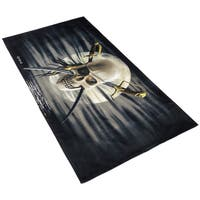 Royce Kaufman Patch Skull Printed Beach Towel (Set of 2)
