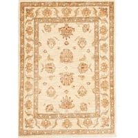 Hand-knotted with Agra Design Area Rug (2' 8 x 3' 9)