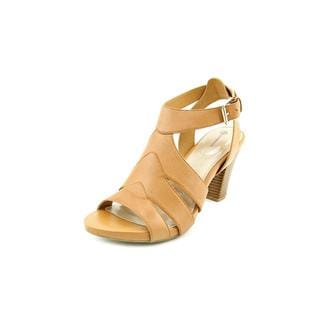 Giani Bernini Women's 'Baylynn' Tan Leather Sandals