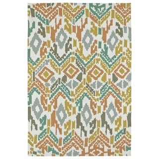 Seaside Multi Ikat Indoor/Outdoor Rug (8'0 x 10'0)