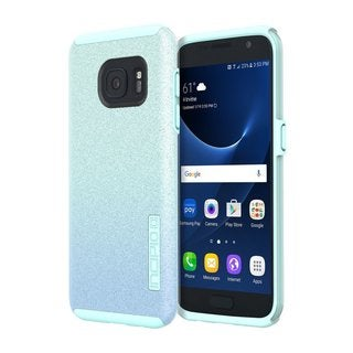 Incipio DualPro Glitter Shock-Absorbing Dual-Layer Case for Samsung Galaxy S7