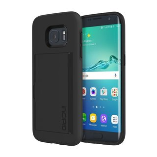 Incipio Samsung Galaxy S7 case Stowaway Credit Card Integrated Stand Polycarbonate Rigid
