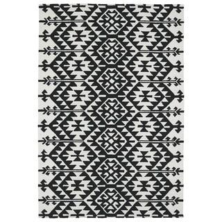 Seaside Black Global Indoor/Outdoor Rug (9'0 x 12'0)