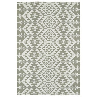 Seaside Taupe Global Indoor/Outdoor Rug (10'0 x 14'0)