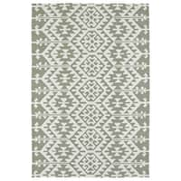 Seaside Taupe Global Indoor/Outdoor Rug - 10' x 14'