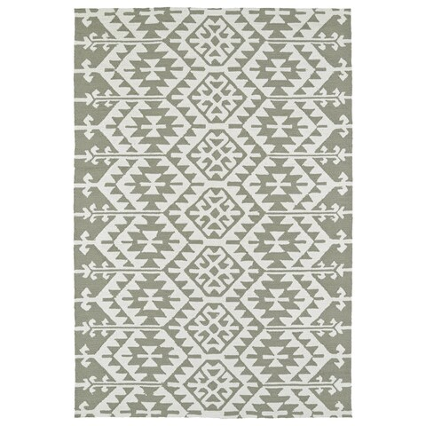 Seaside Taupe Global Indoor/Outdoor Rug - 2' x 3'