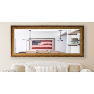 American Made Rayne 30.5 x 71-inch Tarnished Bronze Extra Tall Mirror