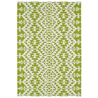 Seaside Lime Green Global Indoor/Outdoor Rug - 10' x 14'