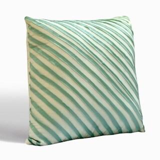 Nostalgia Home Madison Square Teal Decorative Throw Pillow