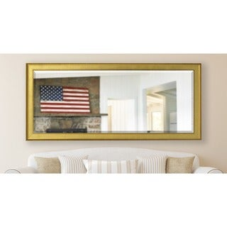 American Made Rayne 28.5 x 69-inch Vintage Gold Extra Tall Vanity Wall Mirror