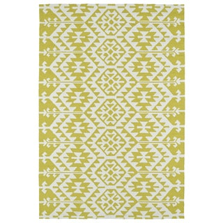 Seaside Wasabi Global Indoor/Outdoor Rug (10'0 x 14'0)