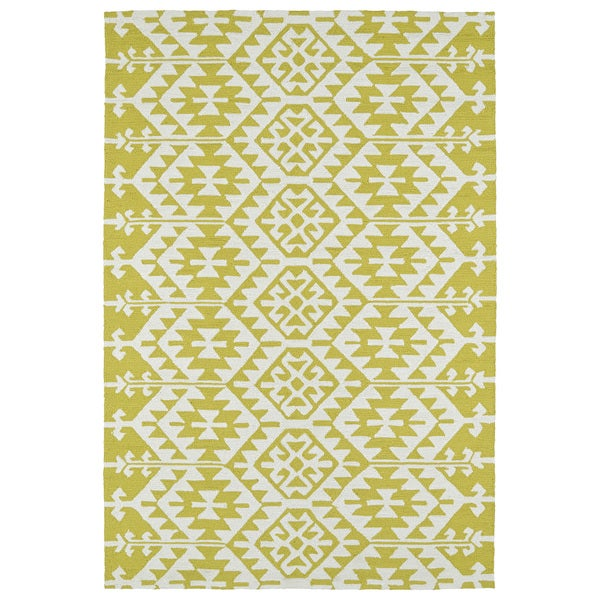 Seaside Wasabi Global Indoor/Outdoor Rug - 10' x 14'