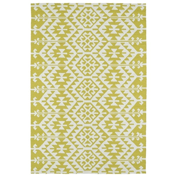 Seaside Wasabi Global Indoor/Outdoor Rug - 8' x 10'