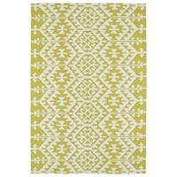 Seaside Wasabi Global Indoor/Outdoor Rug - 4' x 6'