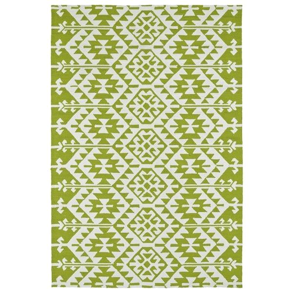 Seaside Lime Green Global Indoor/Outdoor Rug - 8' x 10'