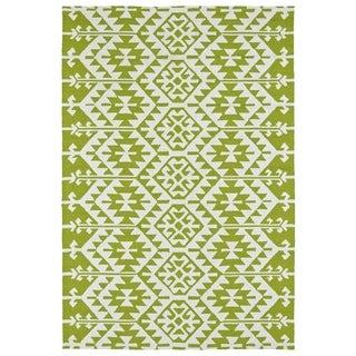 Seaside Lime Green Global Indoor/Outdoor Rug (9'0 x 12'0)