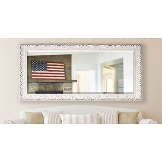 American Made Rayne 30.5 x 71-inch French Victorian White Extra Tall Mirror