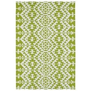 Seaside Lime Green Global Indoor/Outdoor Rug (4'0 x 6'0)