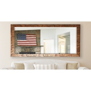American Made Rayne 28.5 x 69-inch Safari Bronze Extra Tall Wall/ Vanity Mirror