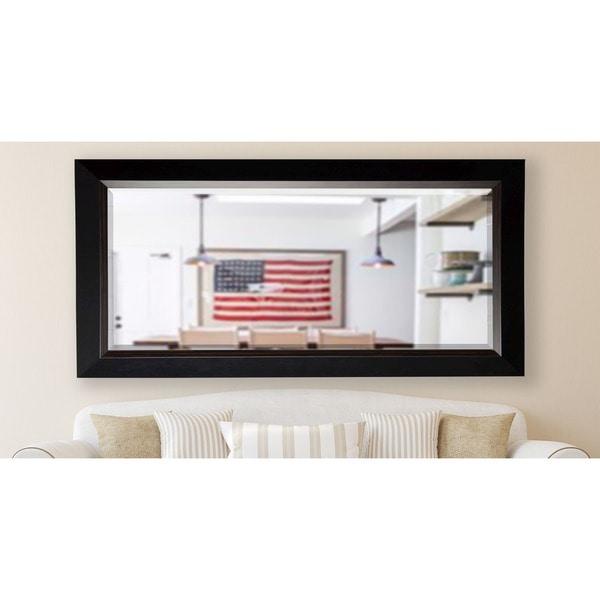 American Made Rayne 30.75 x 71.25-inch Brown Lining Extra Tall Wall Vanity Floor Mirror