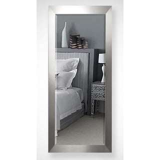 American Made Rayne 30.5 x 71-inch Silver Wide Extra Tall Mirror
